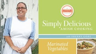 Marinated Vegetable Salad, Featured In Simply Delicious Amish Cooking - Sherry Gore