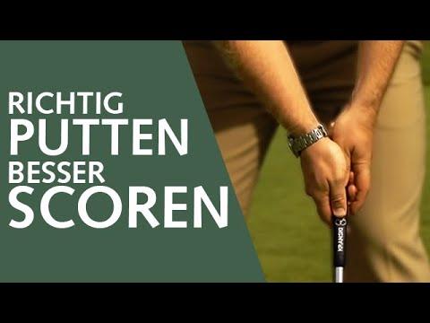 Golftipp - Richtig Putten, besser Scoren