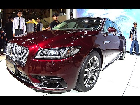 2016, 2017 Lincoln Continental Launched On The Beijing Auto Show