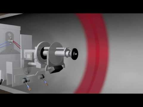 Robotic Internal Field Joint Coating Animation