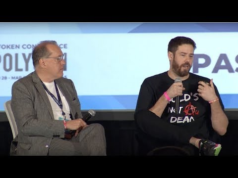 Tokenize All Of The Things Panel at Polycon 2018
