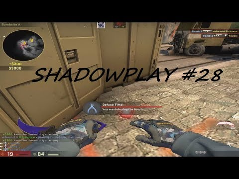 Shadowplay #28 CS:GO @iBambiYes ft. Troy Bolton & Wolverine