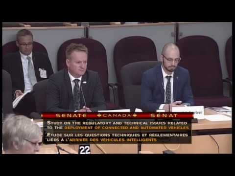 CUTA and Transdev Canada CEOs discuss autonomous transit with Senate Transport Committee