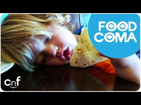 Five Phases Of A Food Coma | Thanksgiving Dinner for Cuties