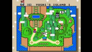 super mario world (super mario all stars + super mario world) minijuegos parte 1 juego