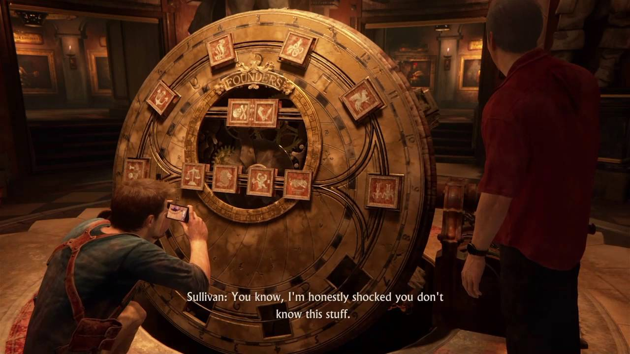 Uncharted 4: Chapter 11 Founders Wheel Puzzle Solution ...