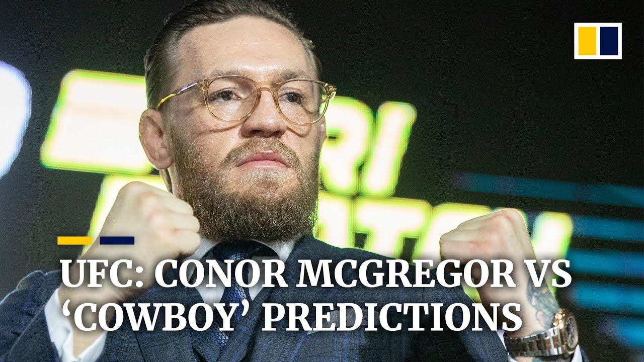 Ufc Conor Mcgregor Vs Cowboy Predictions