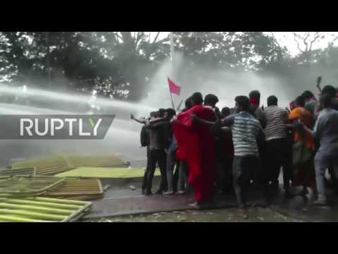 Sri Lanka: Violence at protest against education reforms in Colombo