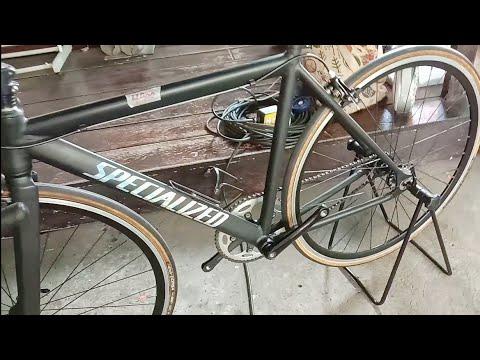 Specialized Fixed Gear เสือหมอบเกียร์เดียว ล้อจักรยานสวยพิเศษ ตลาดนัดจักรยานทีโอที