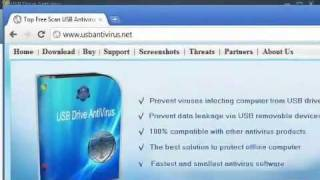 USB Drive Antivirus 2011 Download + 1 Serial key