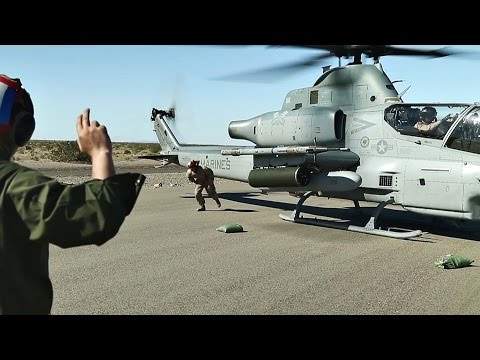 Marine Aviation: AH-1Z Viper – Forward Arming and Refueling Point