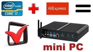 Компьютер с алиэкспресс уделал конкурентов из Dell  и Lenovo!!! Обзор и распаковка.