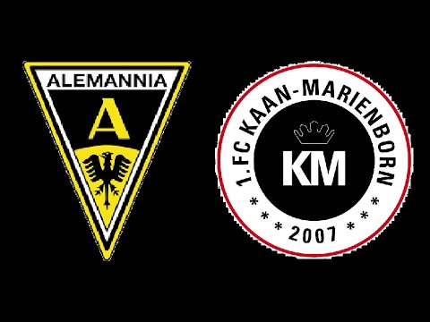 Highlights Alemannia Aachen vs. Kaan Marienborn (inkl. 1:2, 2:2) [15.09.2018]