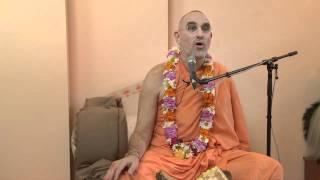 2009.06.20. Varnashrama Seminar 1 H.H. Bhaktividya Purna Swami - Riga, LATVIA