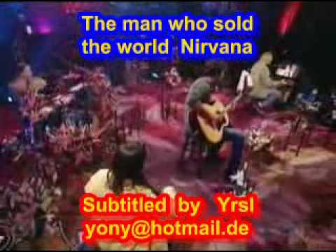 The man who sold the world (SUBTITULADO INGLES ESPAÑOL)