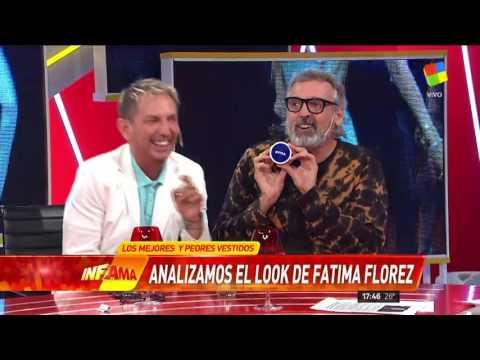 Daniel Casalnovo aclaró porqué se reía del look de Fátima Florez