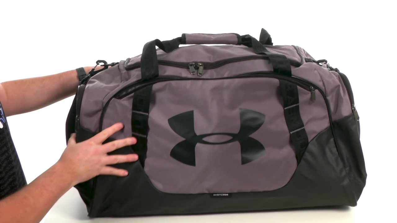 e589f8025461 Under Armour UA Undeniable Duffel 3.0 LG SKU 8871513 - YouTube