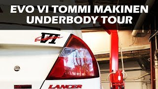 Evo 6 Tommi Makinen Edition - Underbody Tour & What to Look For Video