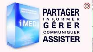 iMED INTRANETMEDICAL - Progiciel Médical + VOIX OFF féminine et MUSIQUE par PRESS ON REC