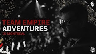 Team Empire adventures in Montreal after SI 2020