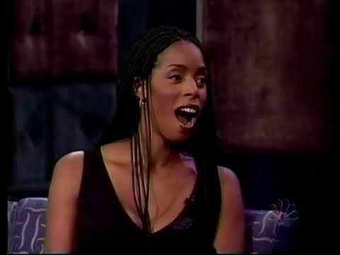 Tasha Smith on Conan 19961022