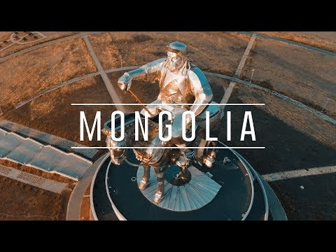 Mongolia with a Drone (4k)
