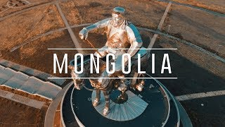 Mongolia by Drone (4k)