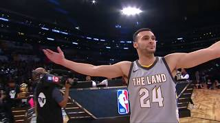 Larry Nance, Jr. Throws Down the Double-Tap Dunk | 2nd Round, 2nd Dunk