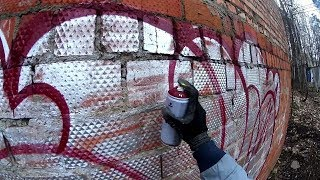 Graffiti Throw Ups Bombing - FOUS 2018