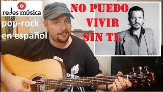 """Cómo tocar """"No puedo vivir sin ti"""" Los Ronaldos + tabs pdf"""