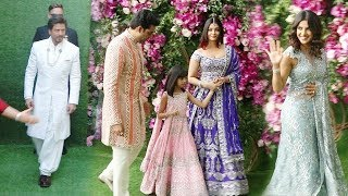 ALL Bollywood Celebrities At Akash Ambani & Shloka Mehta @Wedding Ceremony Red Carpet