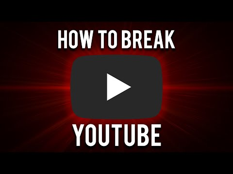 How to Break YouTube (Copyright Claim your own video)