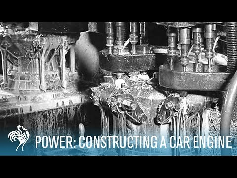 Power: Constructing a Car Engine (1930-1939) | British Pathé