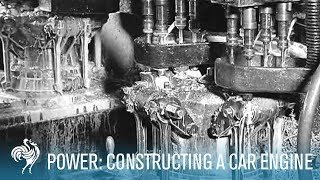 Power: Constructing a Car Engine (1930-1939) | British Pathé