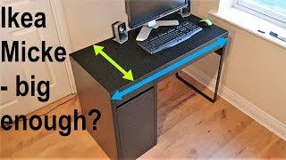 Ikea Micke desk - big enough
