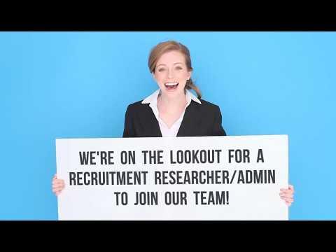 Recruitment Researcher Admin - Internal Vacancy