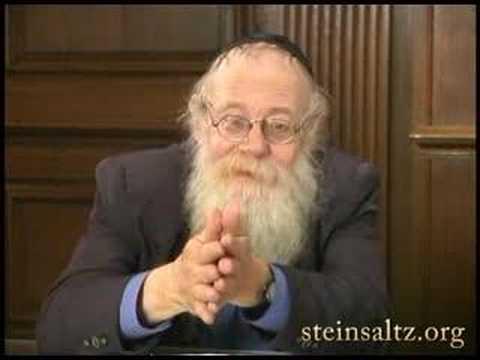 Rabbi Adin Steinsaltz: On Biological Engineering