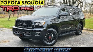 2020 Toyota Sequoia TRD Pro - Rule Every Road Trip