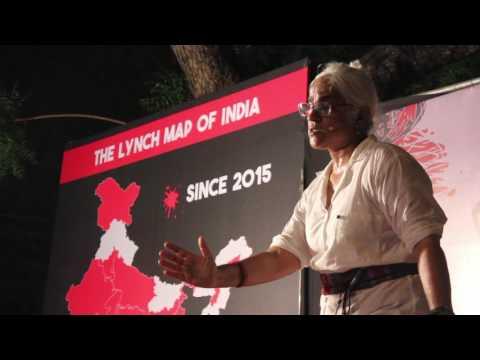 Maya Rao at NOT IN MY NAME (delhi)
