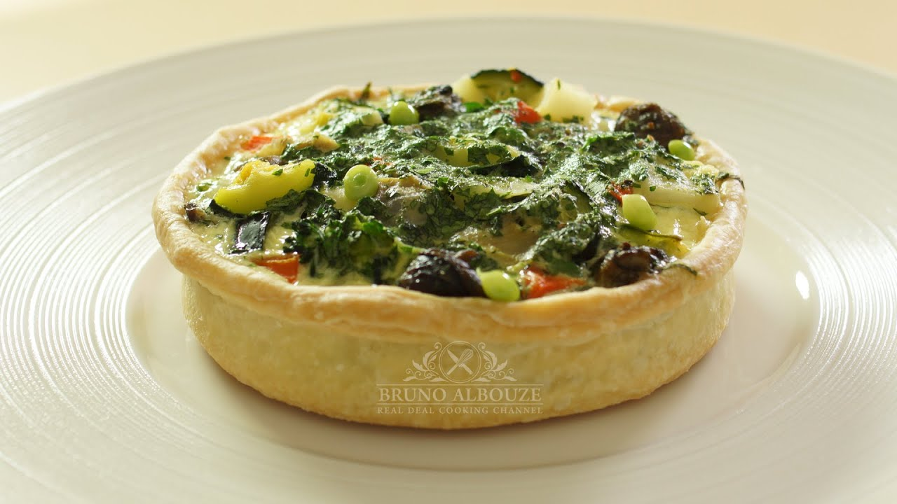 Escargot Aioli Tart - The Real Deal Cooking Channel