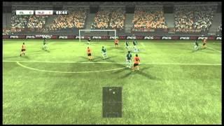 PES 2012 - Become a Legend (Tiki-taka gameplay)