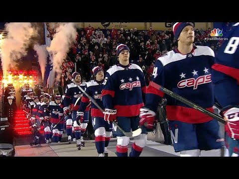 Maple Leafs, Capitals take the ice in Annapolis