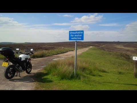 Motorcycle Ride North Yorkshire Moors - James Herriot Country - WOW!