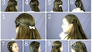 10 Easy & Simple Half Up Hairstyles for Everyday