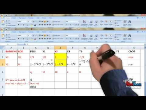 линейное программирование симплекс метод