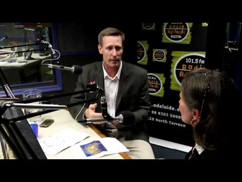 Repower Port Augusta : Dan Van Holst Pellekaan interview - 2nd Nov 2012