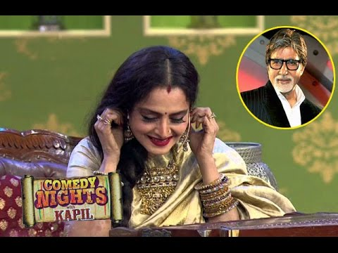 Rekha's LOVE CONFESSION For Amitabh Bachchan In Comedy Nights With Kapil 14th October