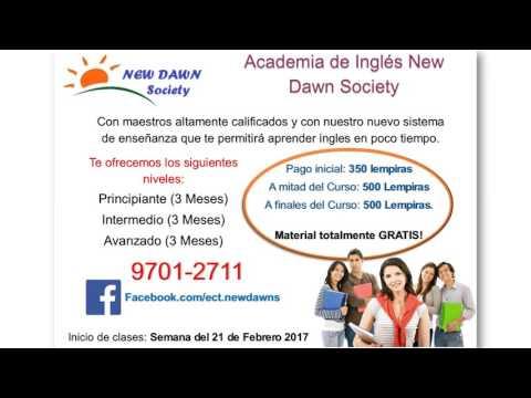 Publicidad New Dawn Society Honduras