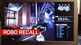 Robo Recall makes the case for Oculus Touch