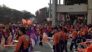 2016-01-14 Clemson Parade - Tiger Rag